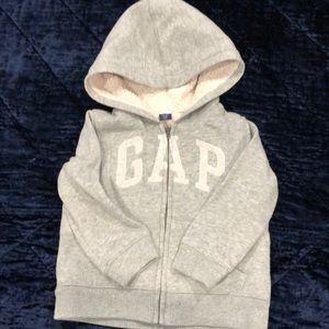 Toddler Gap Logo Sherpa Sweatshirt 2T